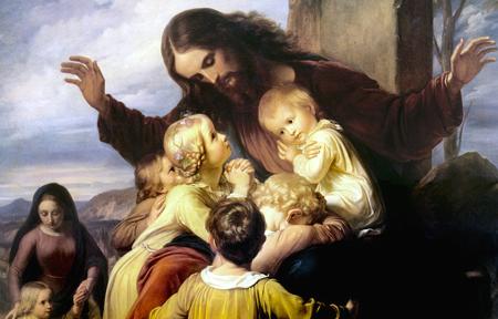 Jesusandthechildren